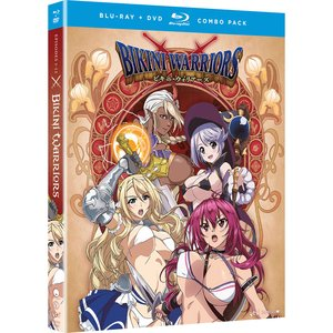 Bikini Warriors Complete Series BD/DVD Combo
