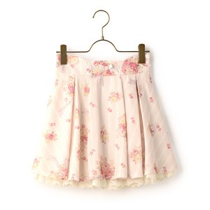 LIZ LISA Bouquet Pattern Sukapan Skirt