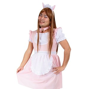 Otaku Apparel & Cosplay / Non-Character Cosplay / Josou Man Cute Maid Men's Cosplay Outfit Set