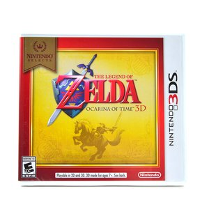 Gaming / Video Games / The Legend of Zelda: Ocarina of Time 3D (3DS)