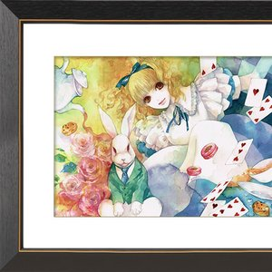 """Alice's Adventures in Wonderland"" Chara Fine Graph Print"