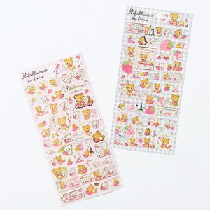 La Fraise a Paris Rilakkuma Stickers
