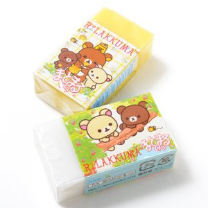 Stationery / Pens & Writing Supplies / Rilakkuma Korilakkuma to Atarashii Otomodachi Eraser