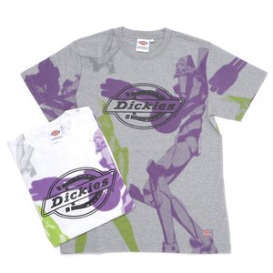 Otaku Apparel & Cosplay / Tops / Evangelion x Dickies Unit-01 Print T-Shirt