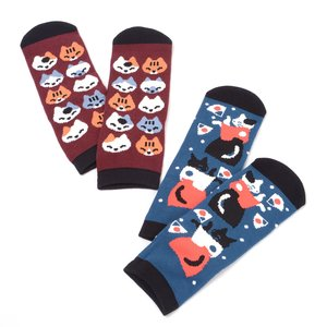 Home & Kitchen / Roomwear & Sleepwear / J-Fashion / Socks & Tights / Nagomi Modern Women's Cat Socks