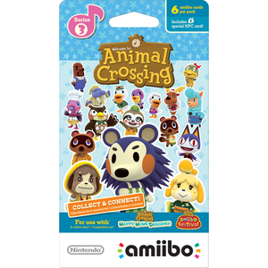 Gaming / Game Accessories / Animal Crossing amiibo Cards Series 3 Pack