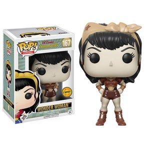 Toys & Knick-Knacks / Soft Vinyl Figures / Pop! Heroes: DC Bombshells - Wonder Woman (Chase Variant)