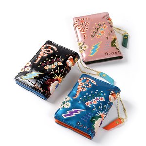 J-Fashion / Wallets & Pouches / FLAPPER Sukajan Embroidered Pass Case