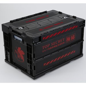 EVA STORE Original Rebuild of Evangelion NERV Top Secret Folding Container