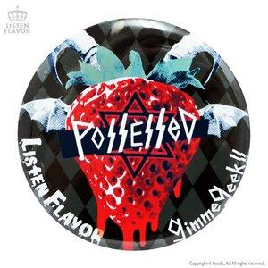 LISTEN FLAVOR x Gimme Geek! Collaboration Vol. 2 Demonic Strawberry Tin Badge