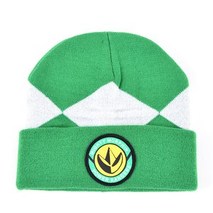 Otaku Apparel & Cosplay / Hats & Caps / Power Rangers Green Suit Up Beanie