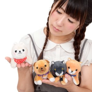 Mameshiba San Kyodai Kuttari Biyori Dog Plush Collection (Ball Chain)