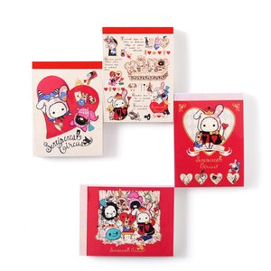 Sentimental Circus Queen of Hearts & Kimagure Alice Cloth-Bound Memo Pads