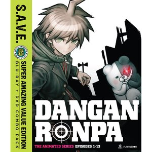 Danganronpa: The Animated Series Episodes 1-13 S.A.V.E. Blu-ray/DVD Combo Pack