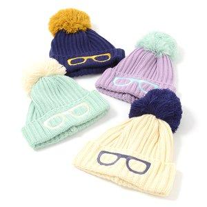 J-Fashion / Hats / Megane Pom Pom Beanie