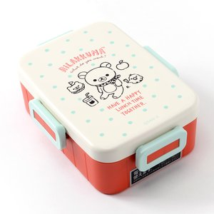 Home & Kitchen / Bento Containers / Rilakkuma 4-Point Lock Tight Lunch Box