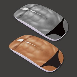 Six-Pack Abs Wireless Mouse