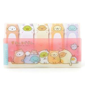 Stationery / Other Stationery / Sumikko Gurashi Poka Poka Neko Biyori Sticky Tabs
