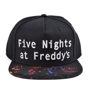 Otaku Apparel & Cosplay / Hats & Caps / Five Nights at Freddy's Sublimated Bill Snapback