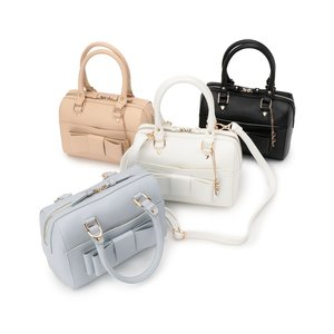 LIZ LISA Ribbon Boston Bag