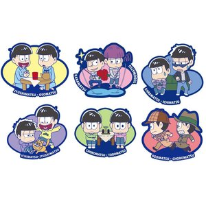 Stationery / Smartphone Straps / Rubber Mascot Buddy Colle Osomatsu-san We Are Brothers Trading Straps