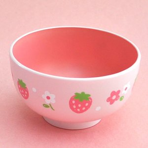 Home & Kitchen / Dishware / Wild Strawberry Soup Bowl