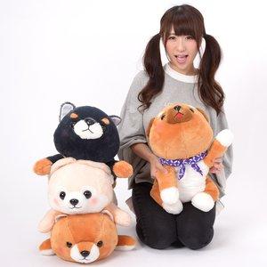 Plushies / Big Plushies / Mameshiba San Kyodai Deshi to Nesoberi Vol. 2 Dog Plush Collection (Big)