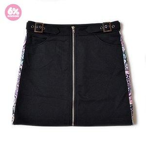 6%DOKIDOKI Kon Ton Line Zip Skirt