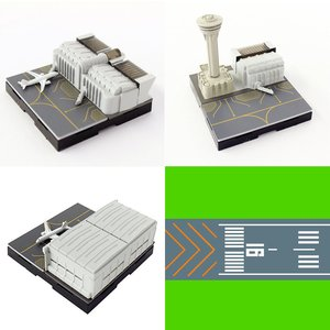 Toys & Knick-Knacks / Collectable Toys / Geocraper 1/2500 Scale Airport Figure Series