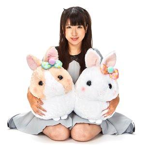 Usa Dama-chan Pompom Ribbon Rabbit Plush Collection (Big)