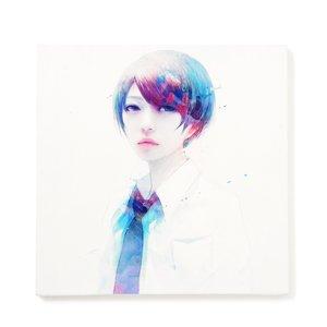 """Art Prints / Art Canvas Boards / wataboku Canvas Print: """"Kenboushou"""""""