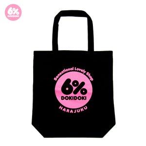 6%DOKIDOKI Logo Tote Bag
