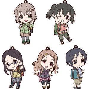 Encouragement of Climb Third Season: Nendoroid Plus Collectible Rubber Keychains Box Set