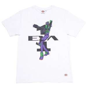 Otaku Apparel & Cosplay / Tops / Evangelion x Dickies Unit-01 Graphic Print T-Shirt