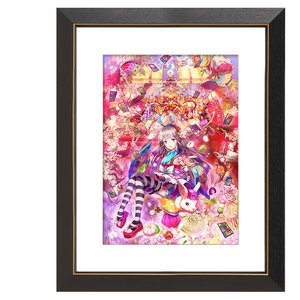 "Art Prints / Art Canvas Boards / Yuu ""Alice in Yamatoland II"" Chara Fine Graph Print"