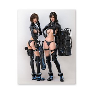 Gantz:O Chara-Fine Canvas Board Type-F Black