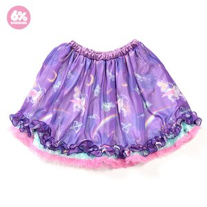 6%DOKIDOKI Night Trip Fluffy Skirt
