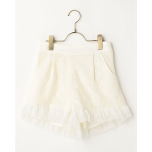 LIZ LISA Schiffli Lace Shorts