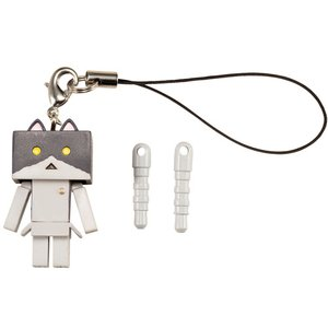 Toys & Knick-Knacks / Collectable Toys / Other Goods / Nyanboard Strap Charm - Black Bicolor