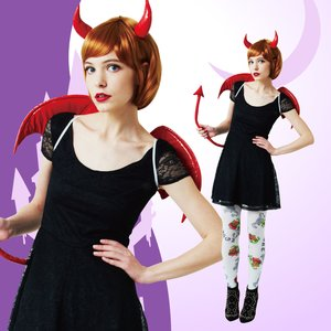 Otaku Apparel & Cosplay / Non-Character Cosplay / Devil Accesory Set (Red)