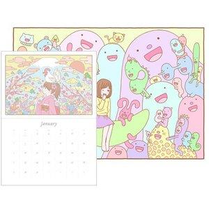Art Prints / Calendars / Yuki Tokuda 2017 Illustration Calendar