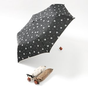 J-Fashion / Other Accessories / FLAPPER Buburin Paw Print Folding Umbrella