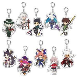 Pikuriru! Fate/Grand Order Trading Acrylic Keychain Charms Vol. 4 Box Set