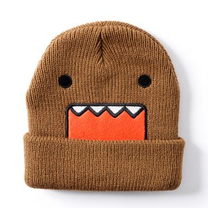 Otaku Apparel & Cosplay / Hats & Caps / Domo Face Beanie (Kids' Size)