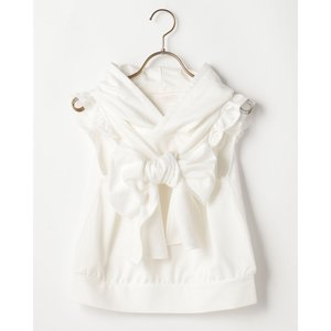 LIZ LISA Ribbon Sleeveless Top