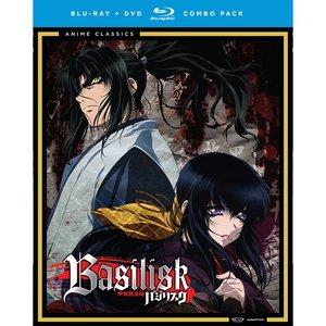 CD & DVD/Blu-ray / Anime DVD/Blu-ray / Toys & Knick-Knacks / Other Goods / Basilisk Complete Series Blu-ray/DVD Combo