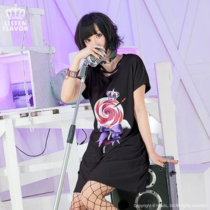 LISTEN FLAVOR x Gimme Geek!! Collaboration Vol. 1 Angel Candy Cross Neck Dress