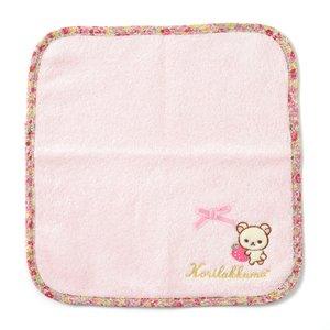 Rilakkuma Korilakkuma Strawberry Flower Mini Towel