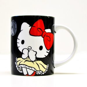 Home & Kitchen / Mugs & Glasses / Hello Kitty Holiday Collection Sketch Ceramic Mug