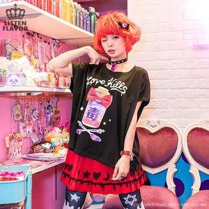 J-Fashion / Tops / LISTEN FLAVOR RaRa CirCo Creator's Collaboration Long Cutsew